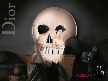 christian dior poison perfume advertisement poster
