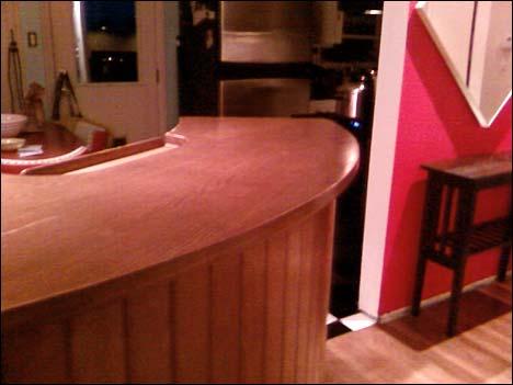 mid-century bar