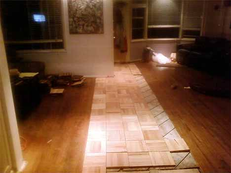 binary floor remodel