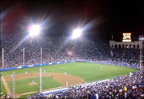 coliseum dodgers red sox