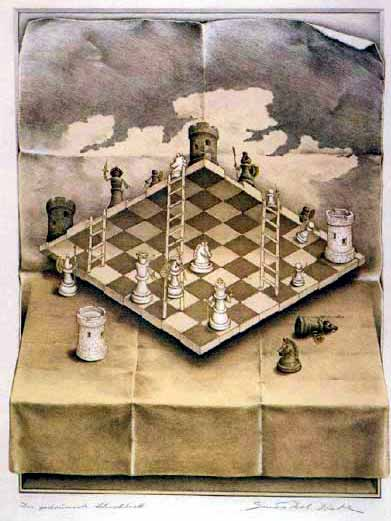 impossible chess set