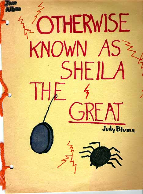 otherwise known as sheila the great by judy blume book report