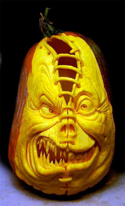 utterly sick pumpkin carvings