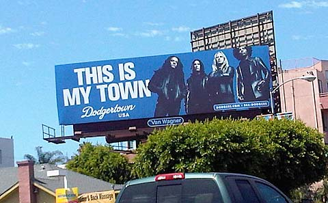 this is my town dodgertown billboard alice in chains