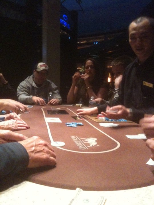milena cali camp ducklings mgm grand las vegas poker face