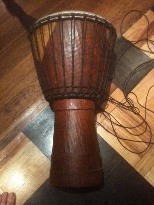 djembe african drum rope tuning goat skin