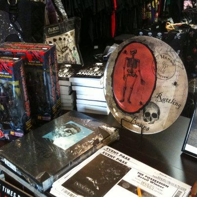 Under Angels at Dark Delicacies