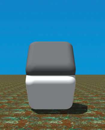 grey blocks illusion gray