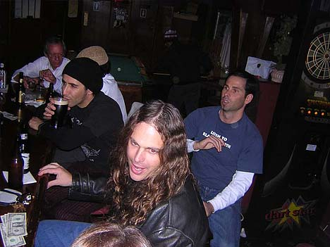 Frank n' Hank's hang pre-Alice in Chains with Naylor, B-Load, Charles