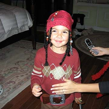 keean jack sparrow pirates of the caribbean costume