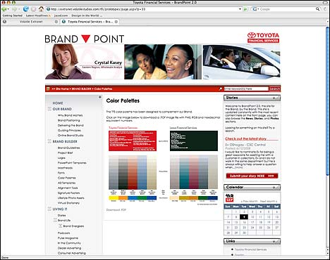 Toyota Financial Services: BrandPoint CMS Content Management System
