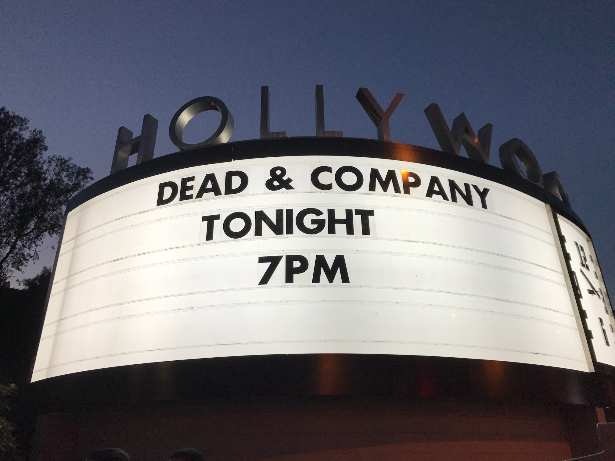 grateful dead and company hollywood bowl